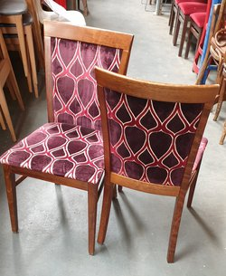 Dralon Upholstered Dining Chairs