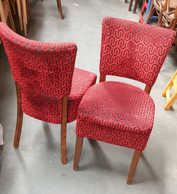 Red Oregon Side Chairs
