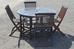 Outside dining tables and chairs for sale