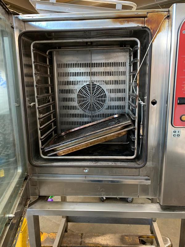 Secondhand 10 Grid combi oven