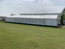 9m x 24m framed marquee for sale