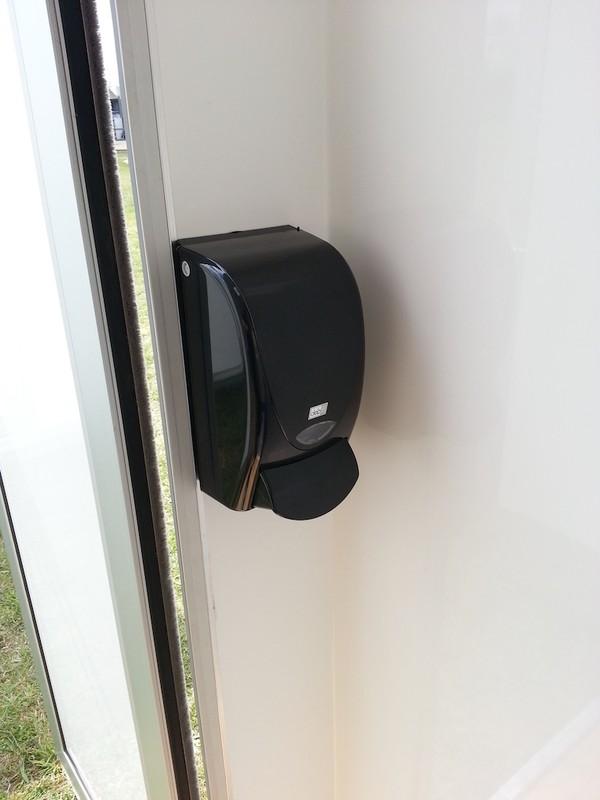 6 Bay Toilet Pod