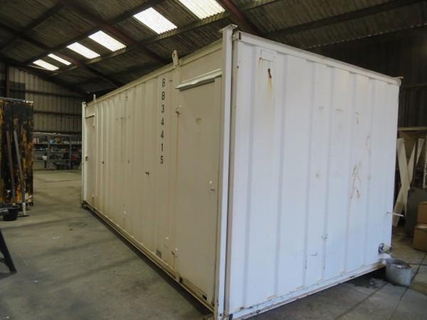 20' x 9' 4 Female 1 Male anti vandal toilet block ideal camp site
