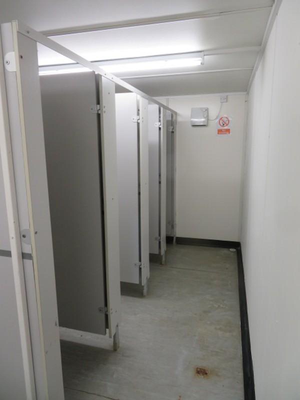 20' x 9' anti vandal toilet block