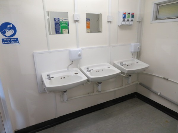 20' x 9' anti vandal toilet unit