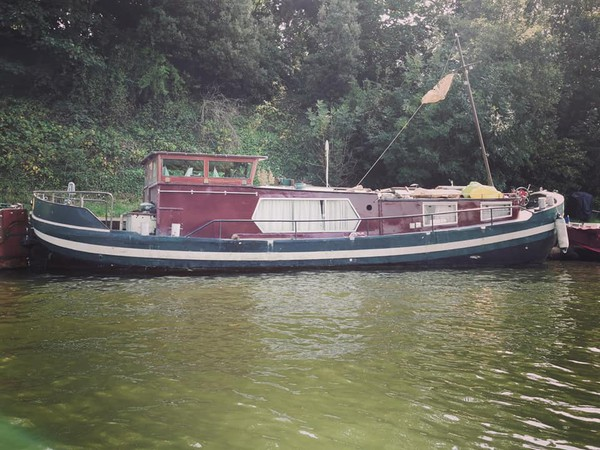 Dutch house boat for sale