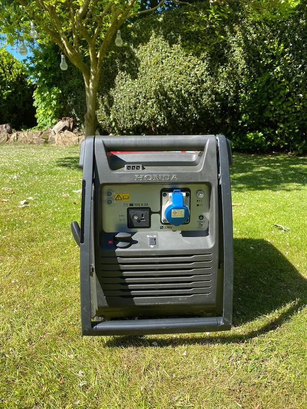 2 Honda Eu30i 3kva Inverter Portable Silent Generators