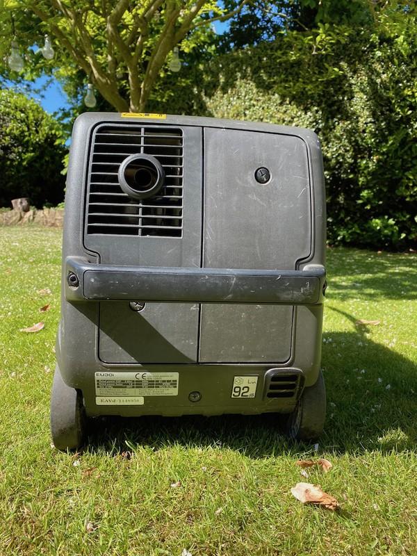 Buy Used Honda Eu30i 3kva Inverter Portable Silent Generator