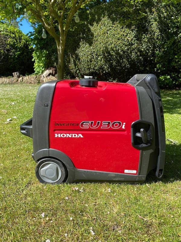 Honda Eu30i 3kva Inverter Portable Silent Generator Unleaded Petrol