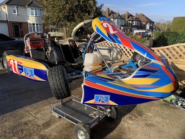 2018 OTK Alonso Junior Rotax125