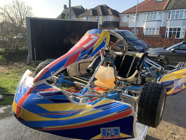 2018 OTK Alonso Junior Rotax125 for sale
