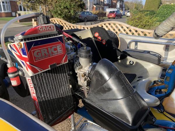 Second Hand 2018 OTK Alonso Junior Rotax125