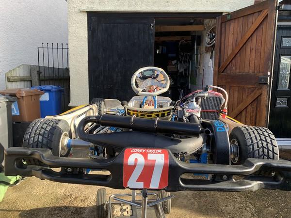 Selling 2018 OTK Alonso Junior Rotax125