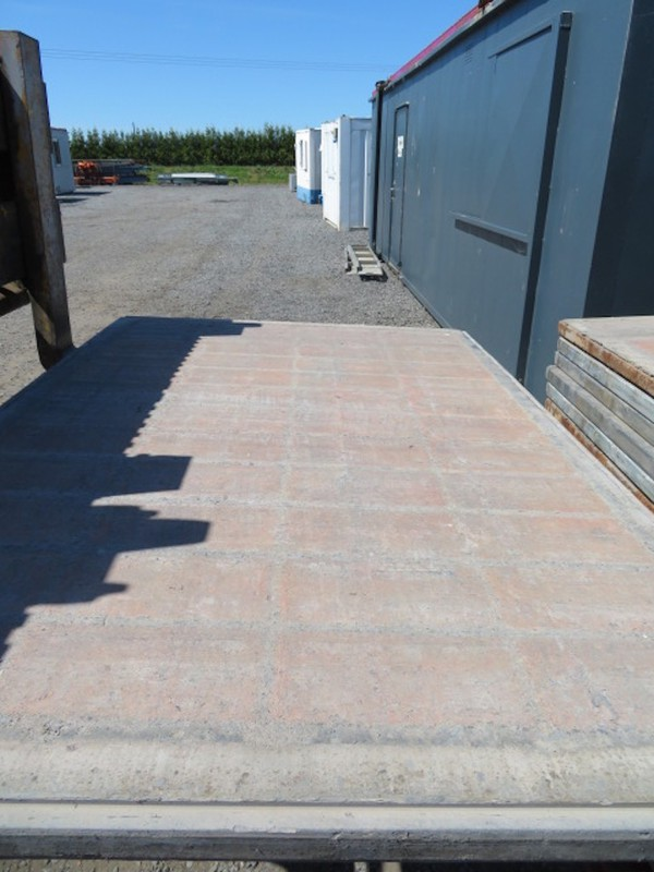Second Hand Track Mat - Temporary Road Hard Plastic
