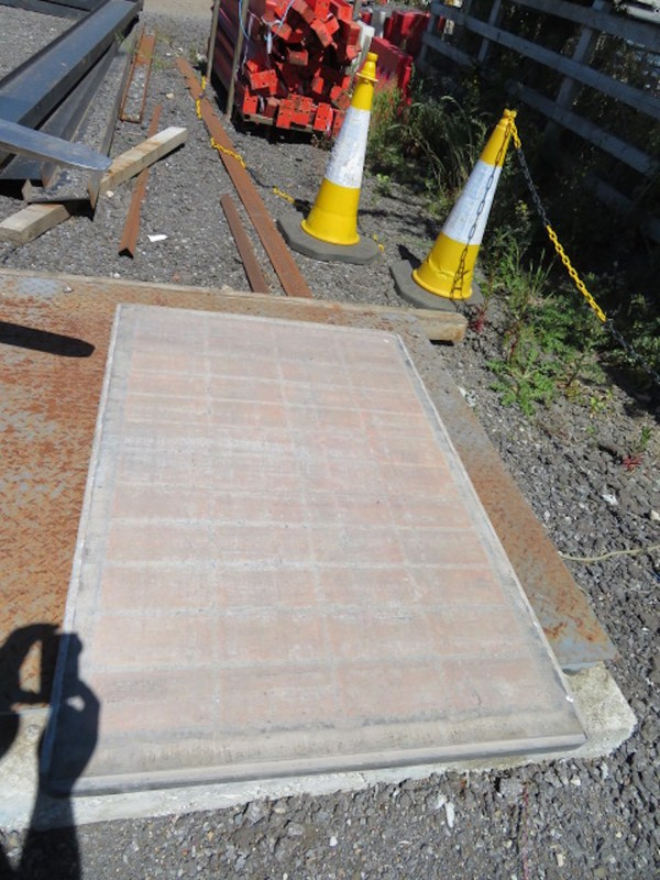 Used Track Mat - Temporary Road Hard Plastic