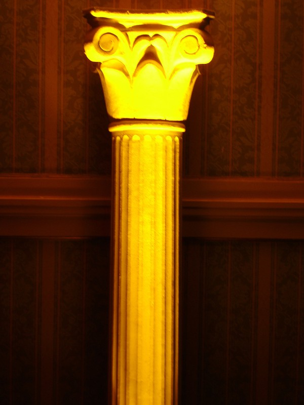 8ft Tall Art Deco Style Pillars for sale