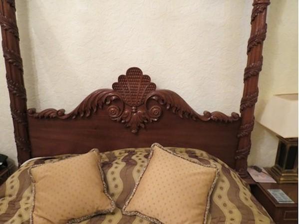 King Size 4 Poster Bed Wooden Frame