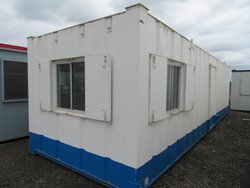 32' x 10' anti vandal split office with central hall