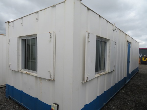 2 separate offices in one anti vandal unit