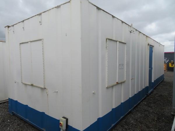 32' x 10' anti vandal split lockable office