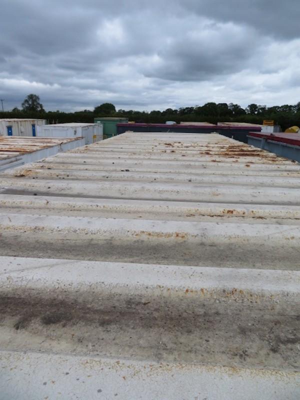 32' x 10' anti vandal split office roof