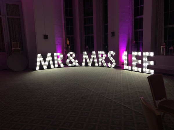 Used 4ft Light Up Letters