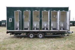 12 bay toilet trailer for sale