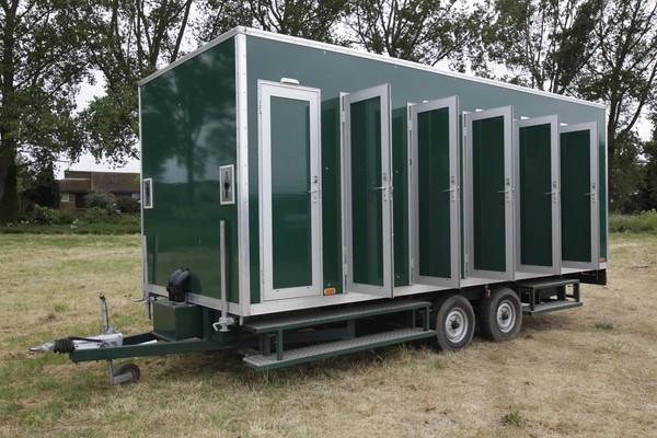 Secondhand festival toilet trailer for sale