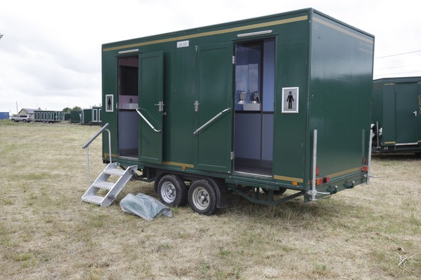 2+1+2 Toilet Trailer for sale