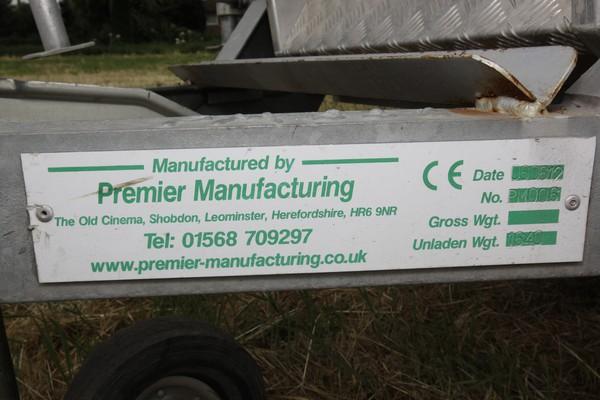 Premier Manufacturing Vin Plate