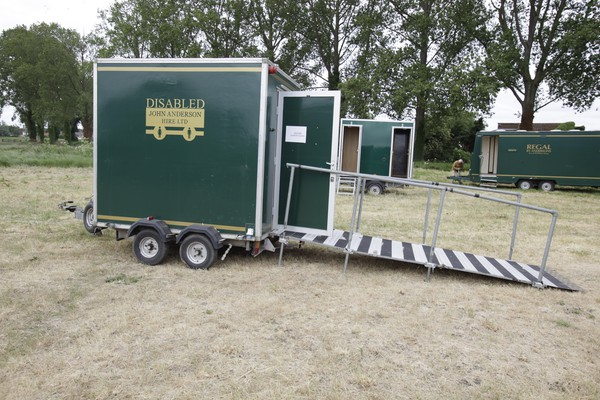 Disabled toilet trailer for sale