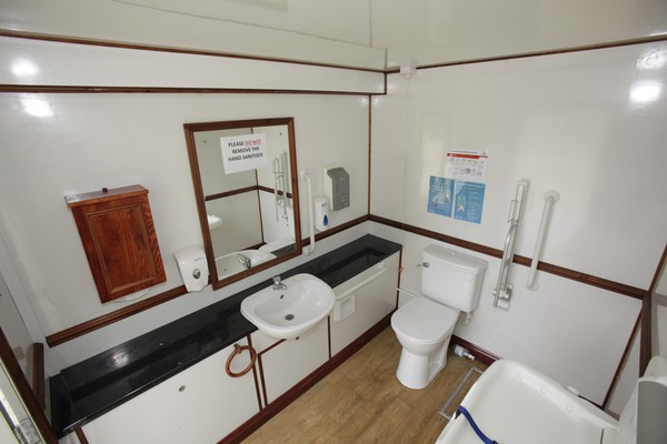 Used disabled toilet unit for sale
