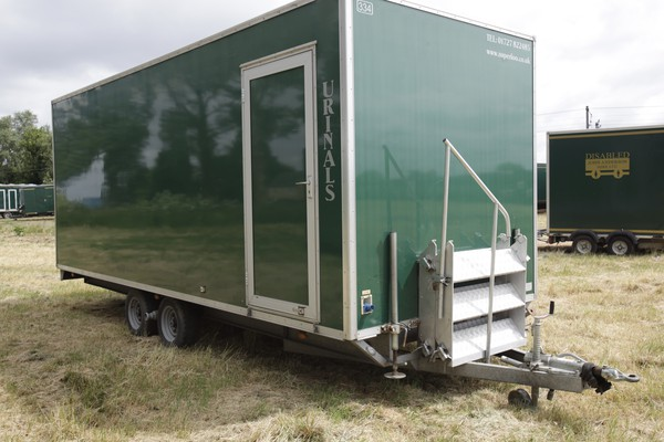 Big urinal trailer
