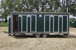 Six bay shower trailer for sale