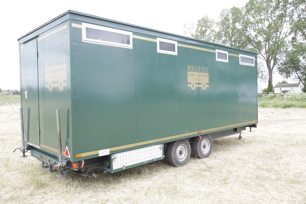 4+3 toilet trailer for sale