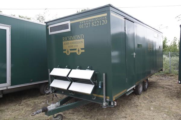 Gents toilet trailer