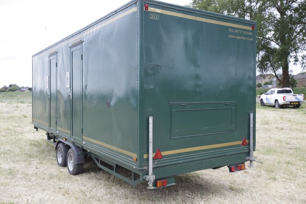 For sale toilet trailers