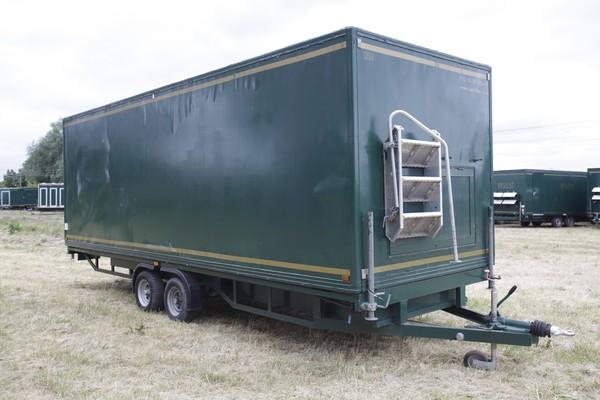 Green toilet trailer for sale