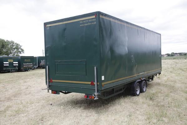 Used toilet trailers