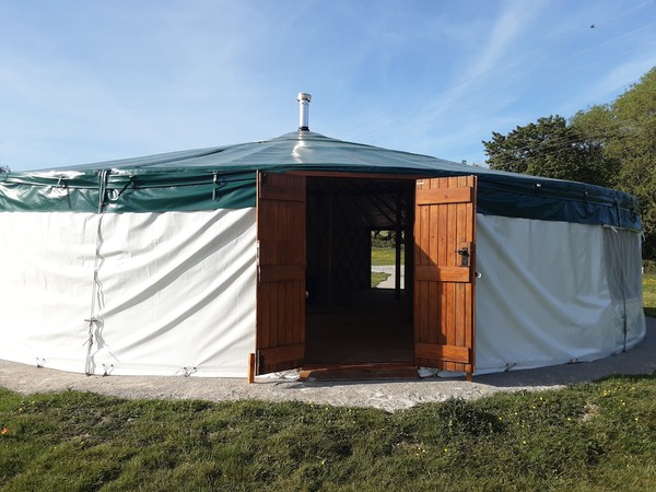 Secon Hand  Wildwood Yurts of Cumbria 40ft Yurt