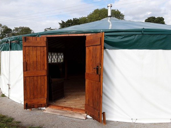 Used  Wildwood Yurts of Cumbria 40ft Yurt