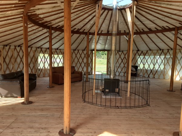 Wildwood Yurts of Cumbria 40ft Yurt
