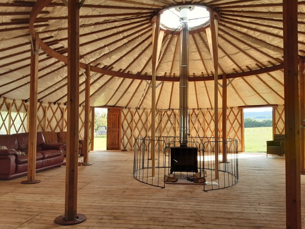 Wildwood Yurts of Cumbria 40ft Yurt for sale