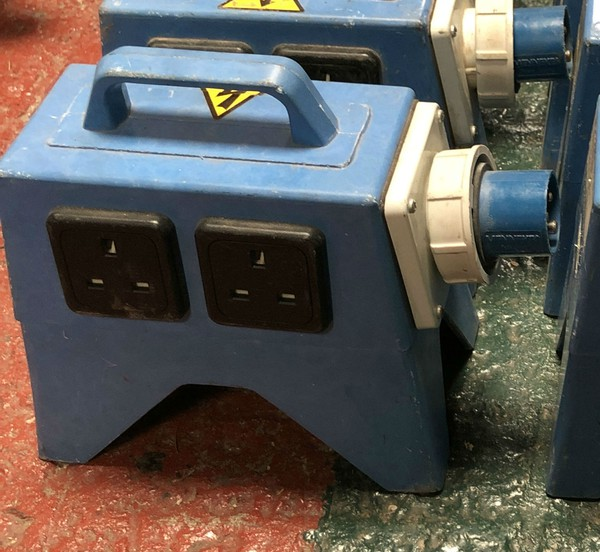 16amp to 13amp Distro for events