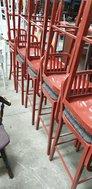 Metal Framed High Bar Chairs