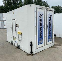 4 Bay shower block - Portable