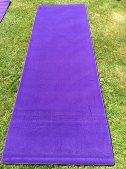 """Cadbury Purple"" VIP Carpet Runners"