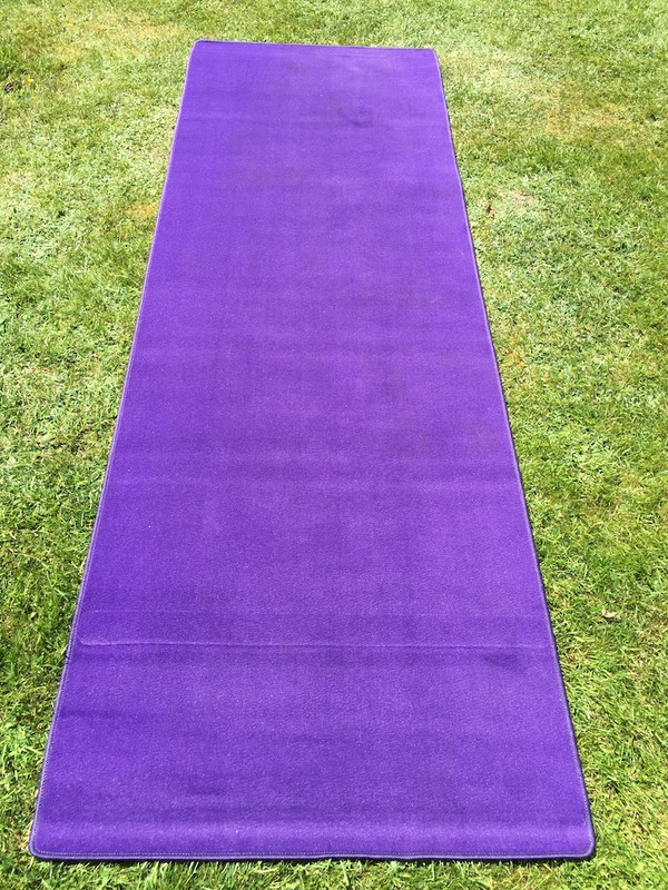 "Buy ""Cadbury Purple"" VIP Carpet Runners"