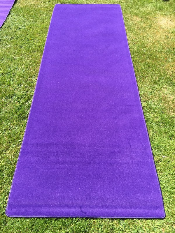 """Cadbury Purple"" VIP Carpet Runners for sale"
