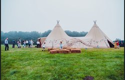2 Giant Tipis for sale